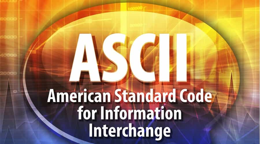The fundamentals of the ASCII table implementation in MQL4