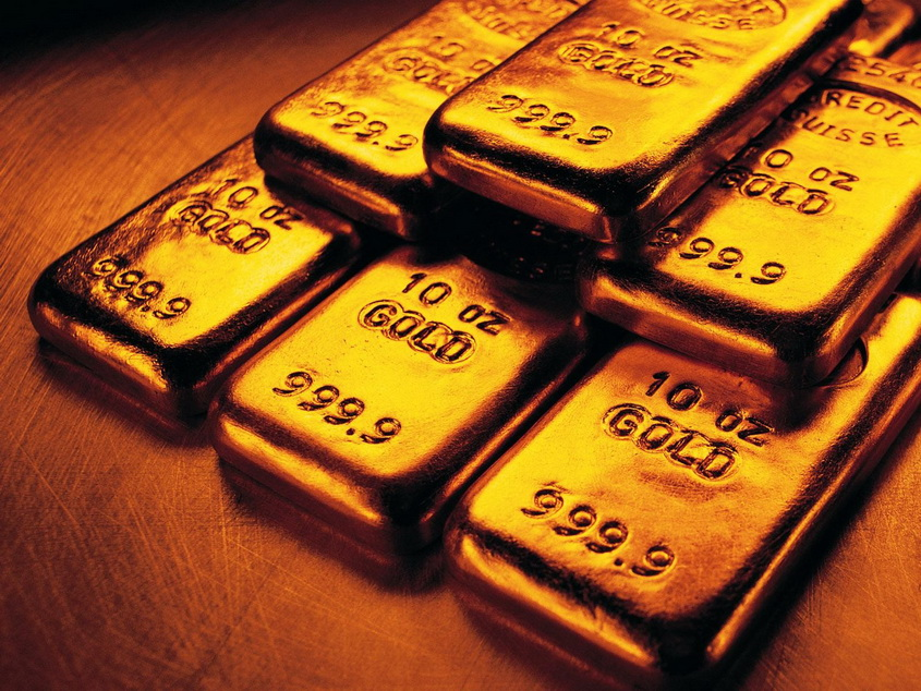 Gold futures rise in price