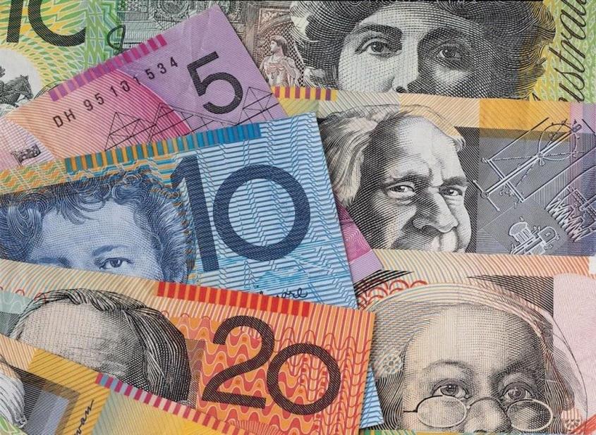 Australian dollar falls