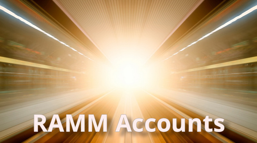 RAMM Accounts