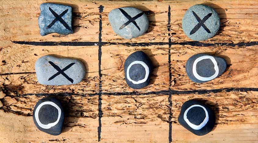 Крестики-нолики – графический индикатор Форекс