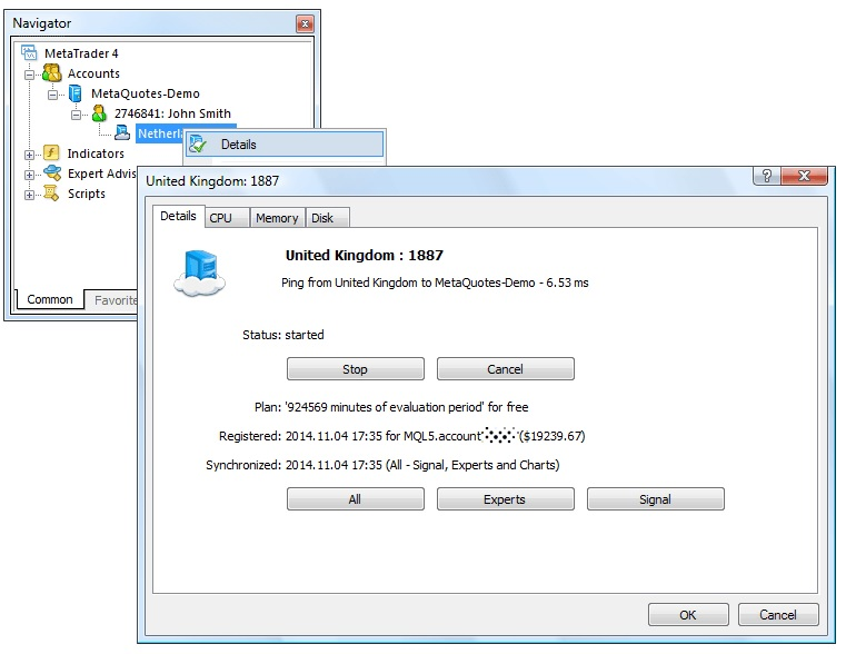 Virtual hosting in MetaTrader platforms (1)